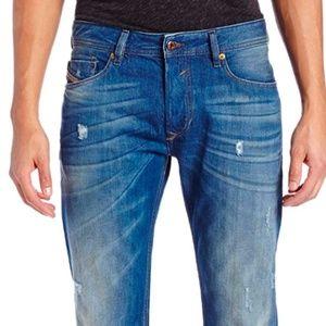 Diesel Men's Waykee Regular Straight-Leg Jean 0823